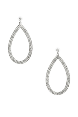 G by Guess Jeweled Teardrop Earrings