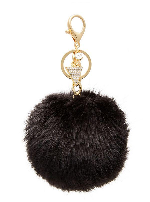 Black Pom Keychain  672568416