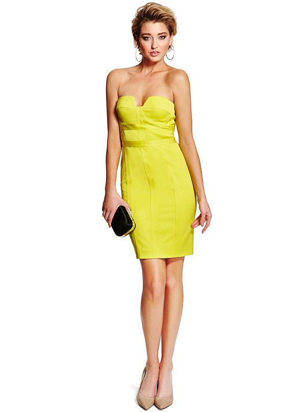 Adenna Strapless Pencil Dress  GUESS by Marciano
