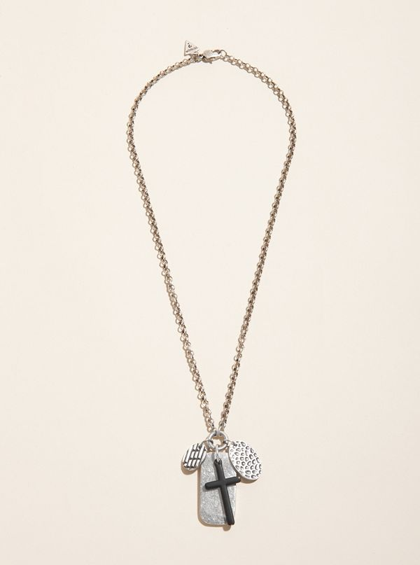 Chain Necklace with Tags &