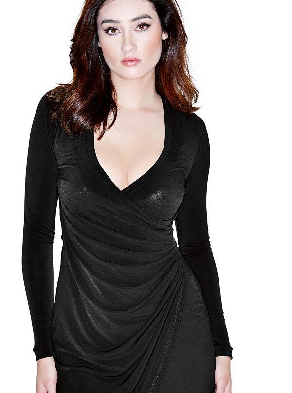 Twist Solid Dress