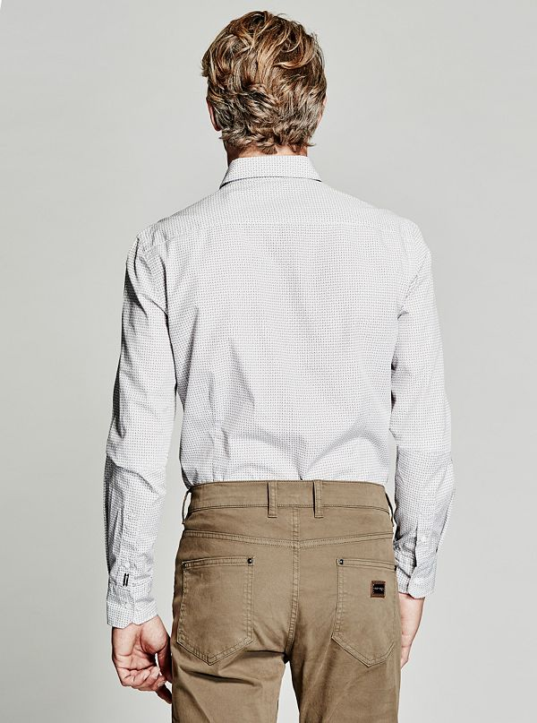 Printed Slim Fit Shirt Guess By Marciano