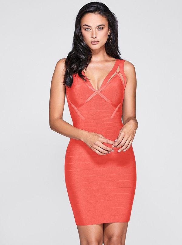 adf0b2fb1ff Olivia Strappy Bandage Dress