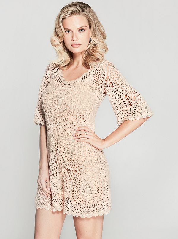 Lanu Crochet Dress