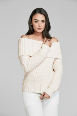a918a7f1270 Roy Off-The-Shoulder Sweater