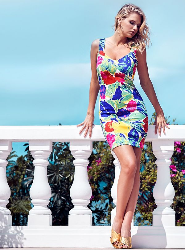 44cb5e3f1a06 Dolce Vita Floral Dress | GUESS by Marciano