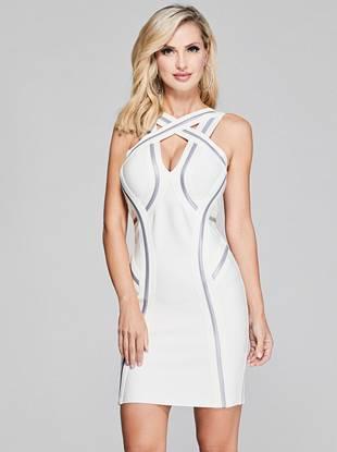 Let It Glow Bandage Dress by Guess