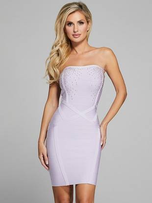 Cloud 9 Beaded Bandage Dress by Guess