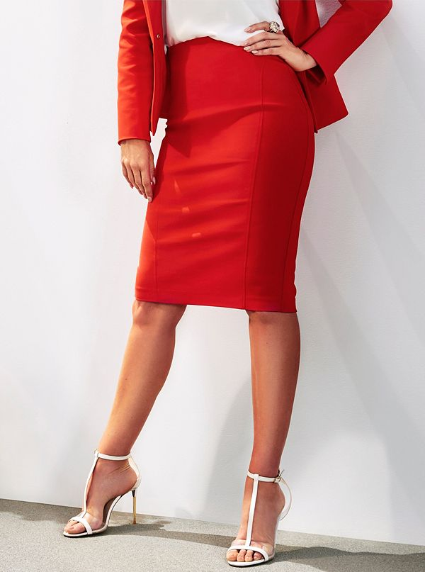 8a2e2b463 Giotto Tailored Pencil Skirt