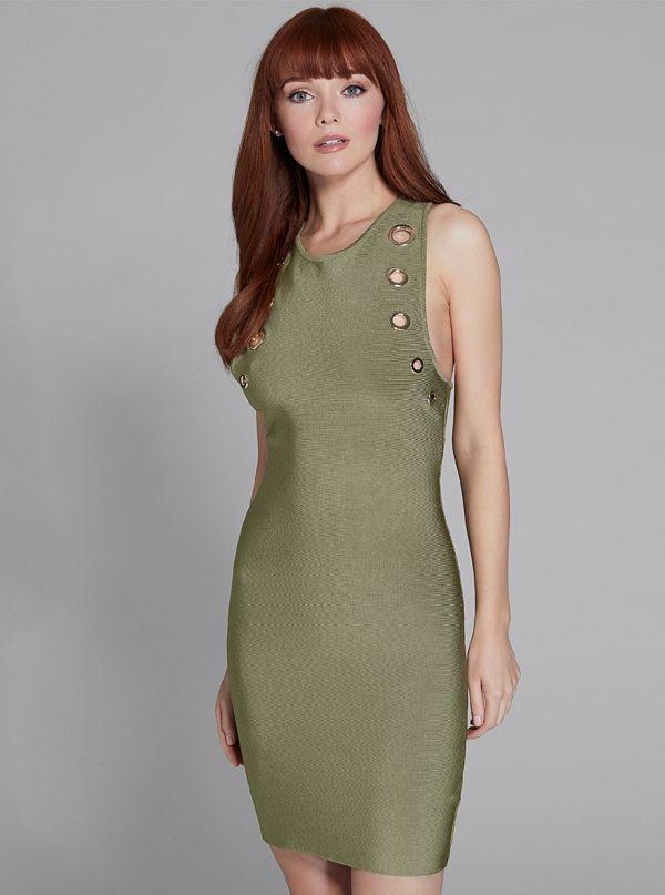 7b5e495e261 Felicity Sleeveless Bandage Dress
