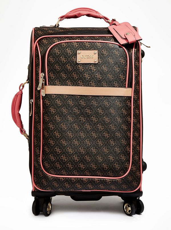 Logo Affair 21 Quot 8 Wheel Spinner Suitcase Guess Com