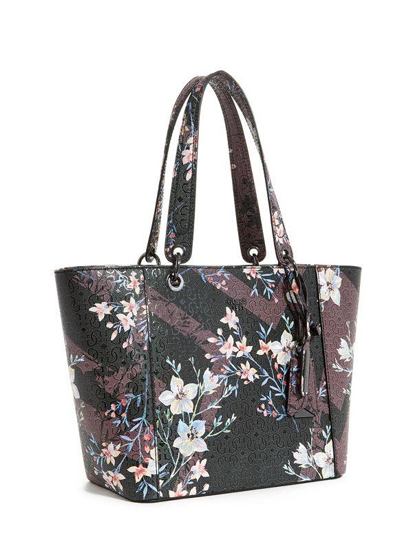 Kamryn Floral Tote   GUESS.com c1e3fe041b