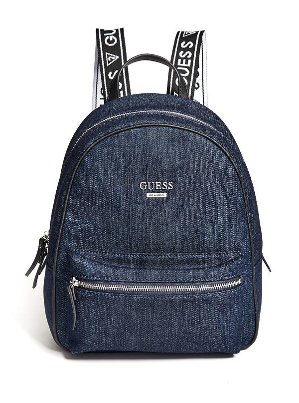 Kaplan Denim Logo Backpack 1c979a0b48702