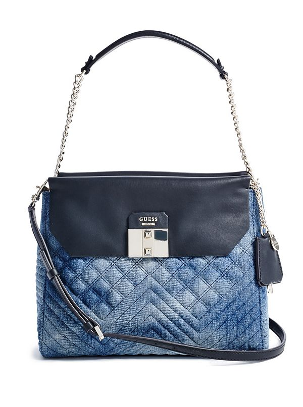 2989d7941c5 Rebel Roma Denim Shoulder Bag   GUESS.ca
