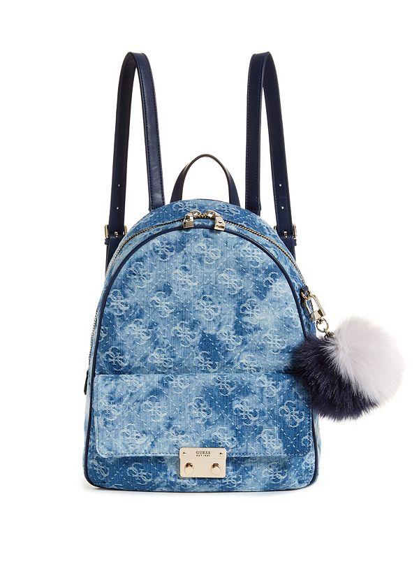 07e9bbfce2 Varsity Pop Denim Backpack