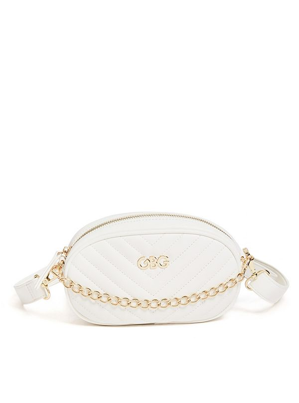 a6c4a2908 Chain Faux-Leather Belt Bag