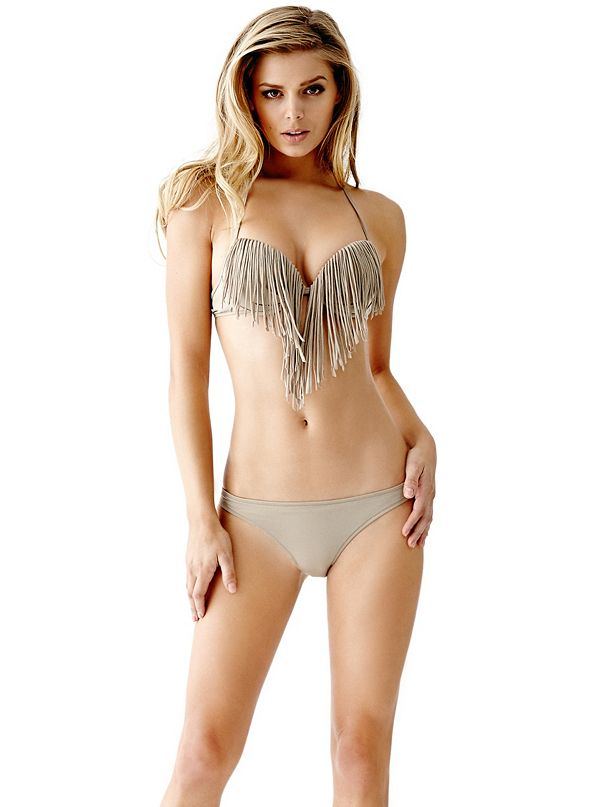 fringe super push up bikini bra top. Black Bedroom Furniture Sets. Home Design Ideas