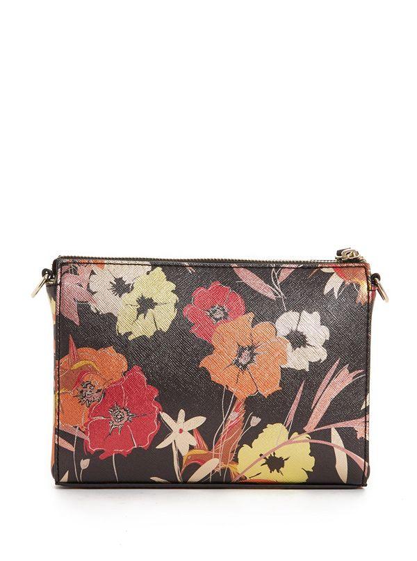 Kamryn Metallic Floral Convertible Crossbody | GUESS.com