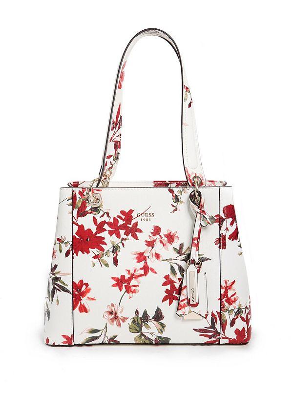 Kamryn Floral Shopper Tote   GUESS.com afe8d8e84b