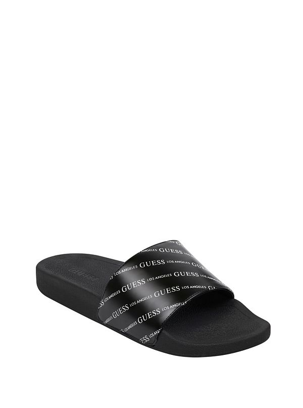 6b3c8affaf1 Eclipse Logo Slide Sandals