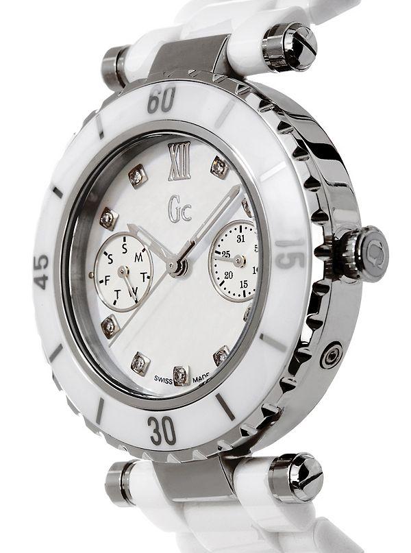 ed9c15b93 GC DIVER CHIC Diamond Dial White Ceramic Timepiece. G46003L1-NC-ALT3.  G46003L1-NC. G46003L1-NC-ALT1