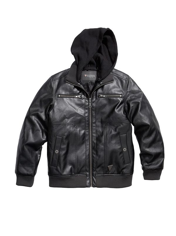 Fake leather jacket canada