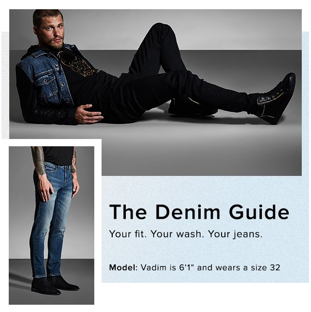 Mens Denim Guide