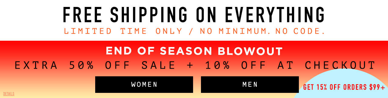 End of Season Blowout