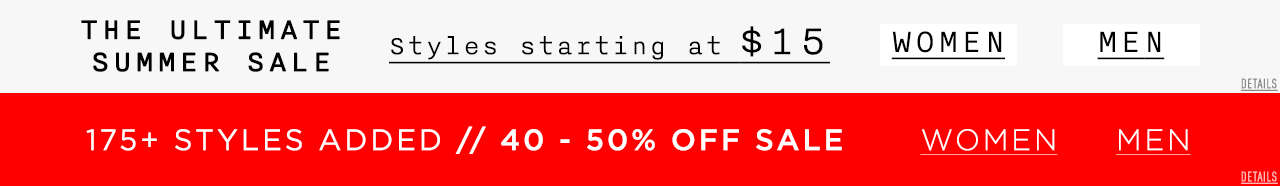 The Ultimate Summer Sale