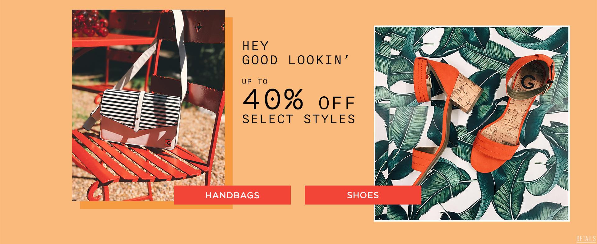 40% Off All Handbags