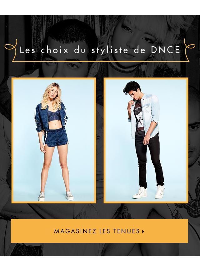 SHOP DNCE Stylist Picks