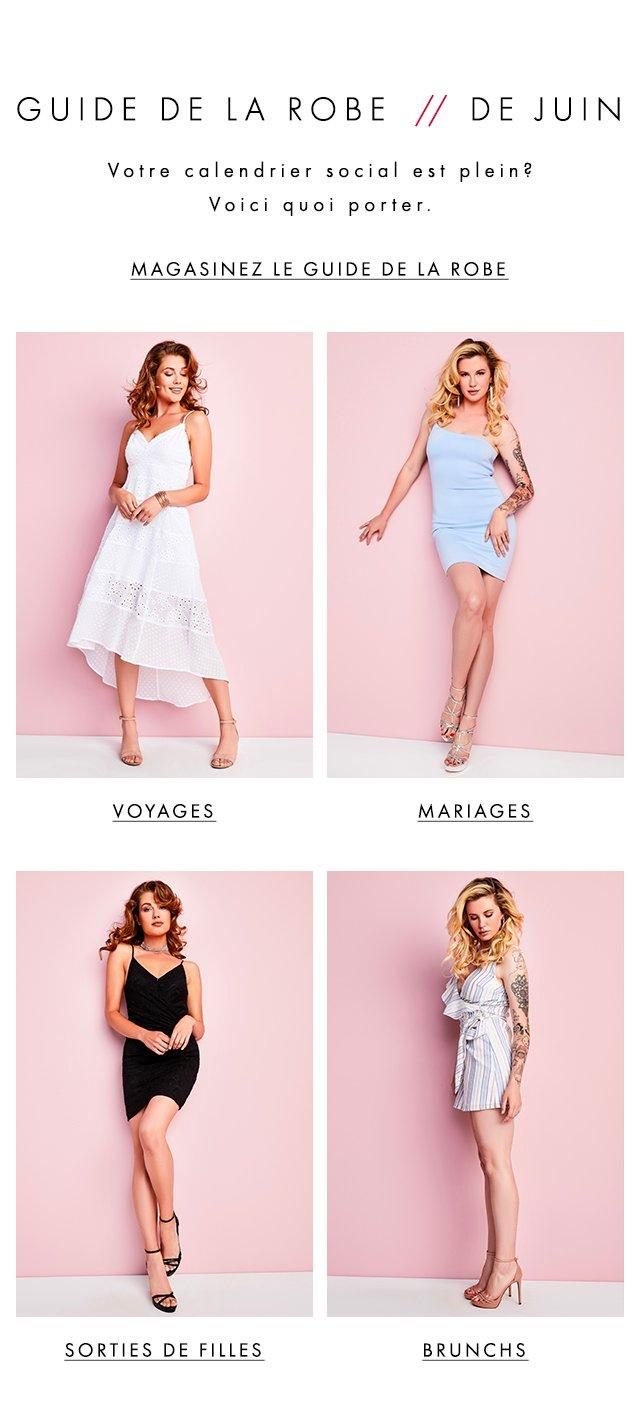 GUESS? Dress Guide