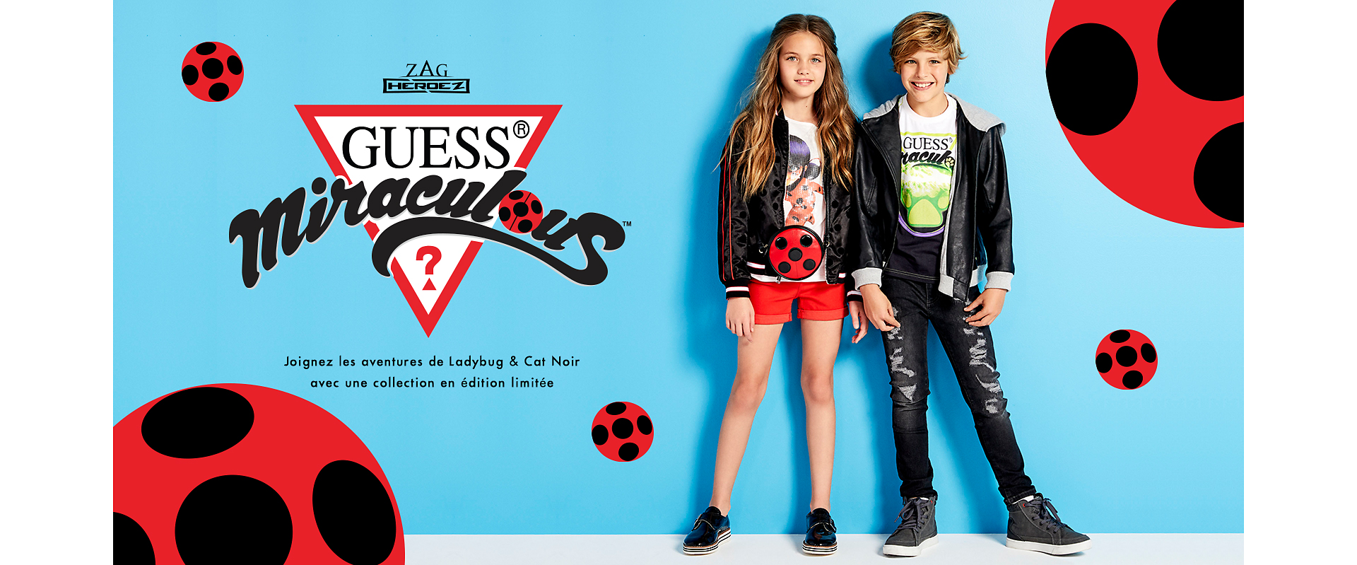 GUESS x MiraculousCollection