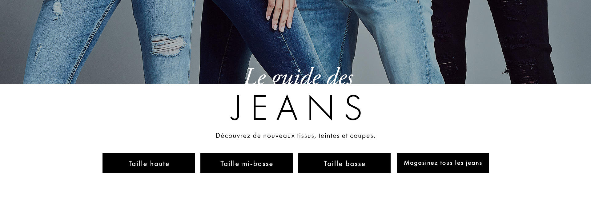 Jeans Et Articles En Denim Pour Femmes Guess