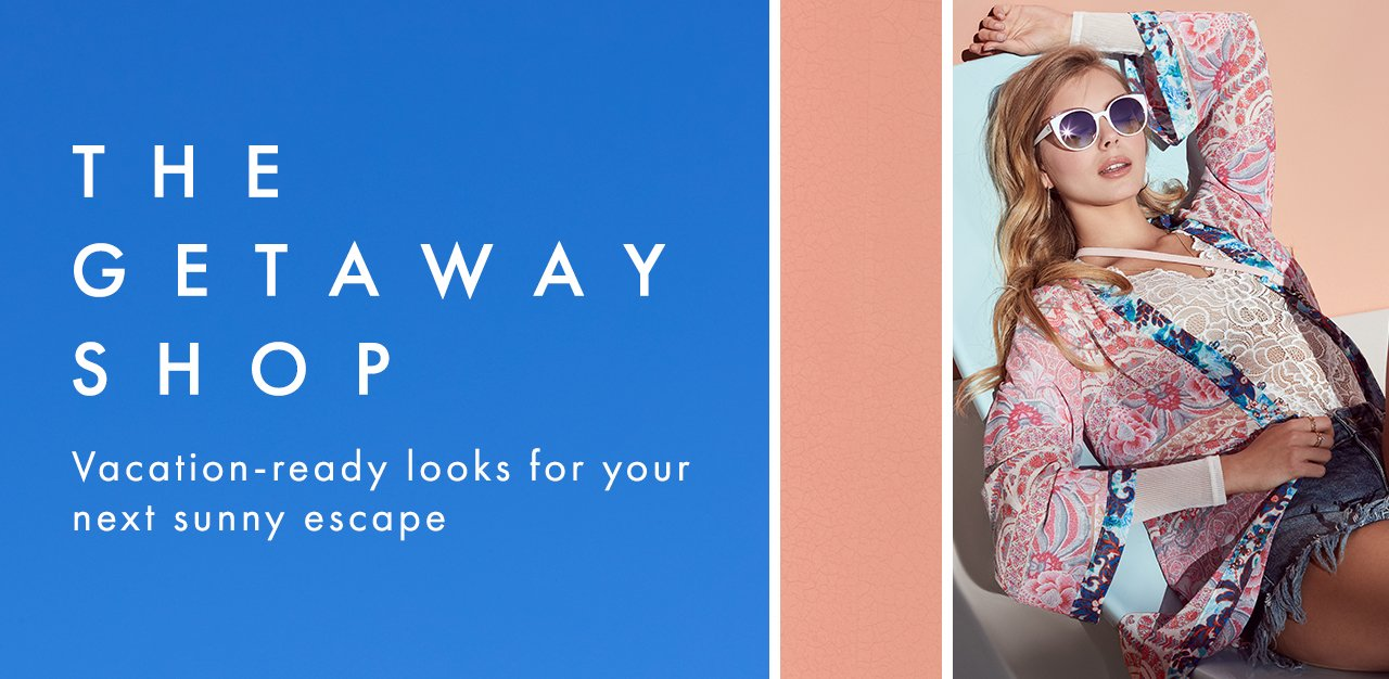 Vacation-ready looks for your next sunny escape