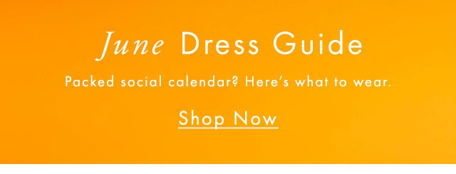Packed social calender? Here's what to wear.