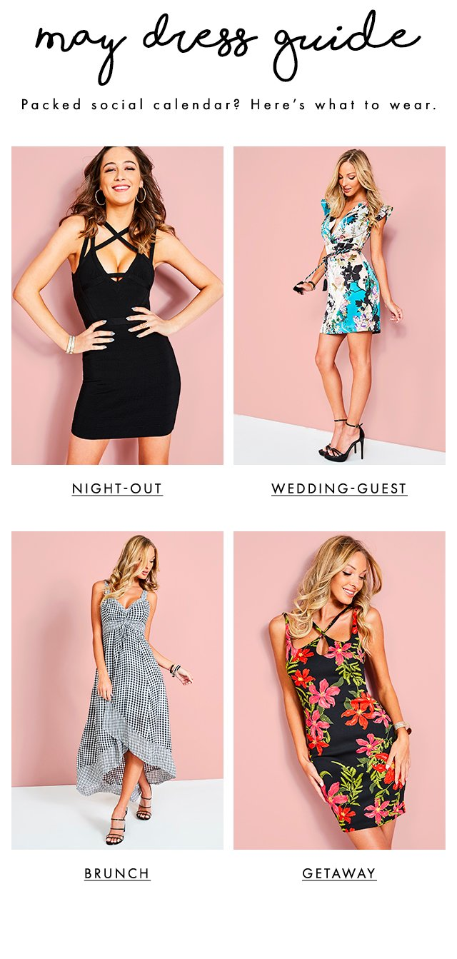 GUESS? Dress Guide