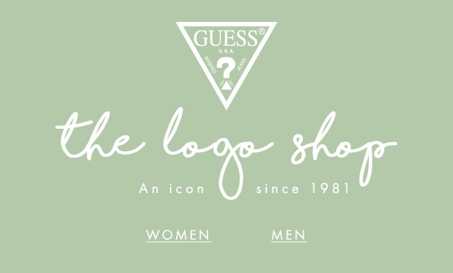 GUESS? the logo shop