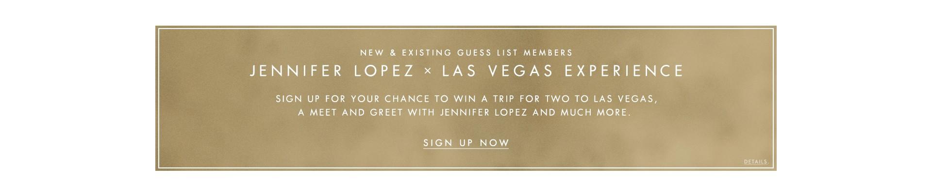 Jennifer Lopez x Las Vegas Experience