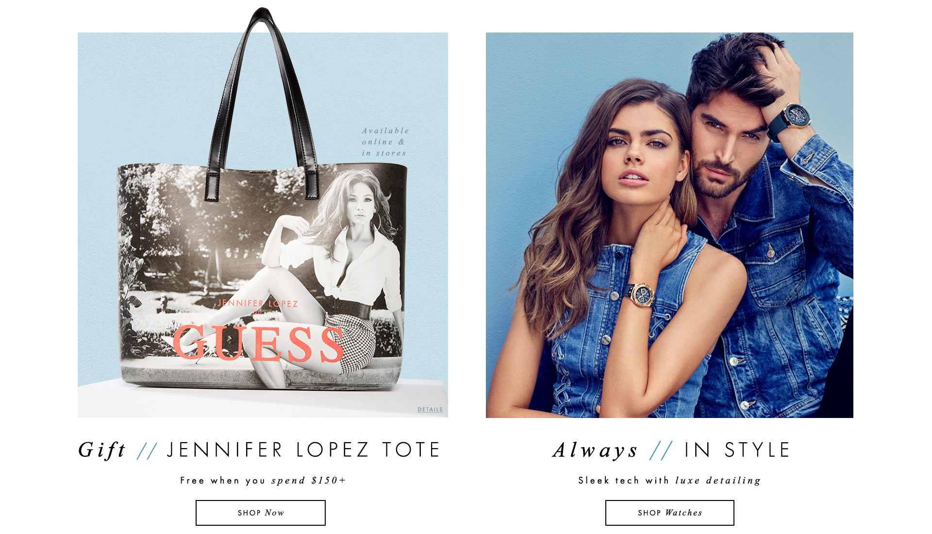 Jennifer Lopez Tote and Watches