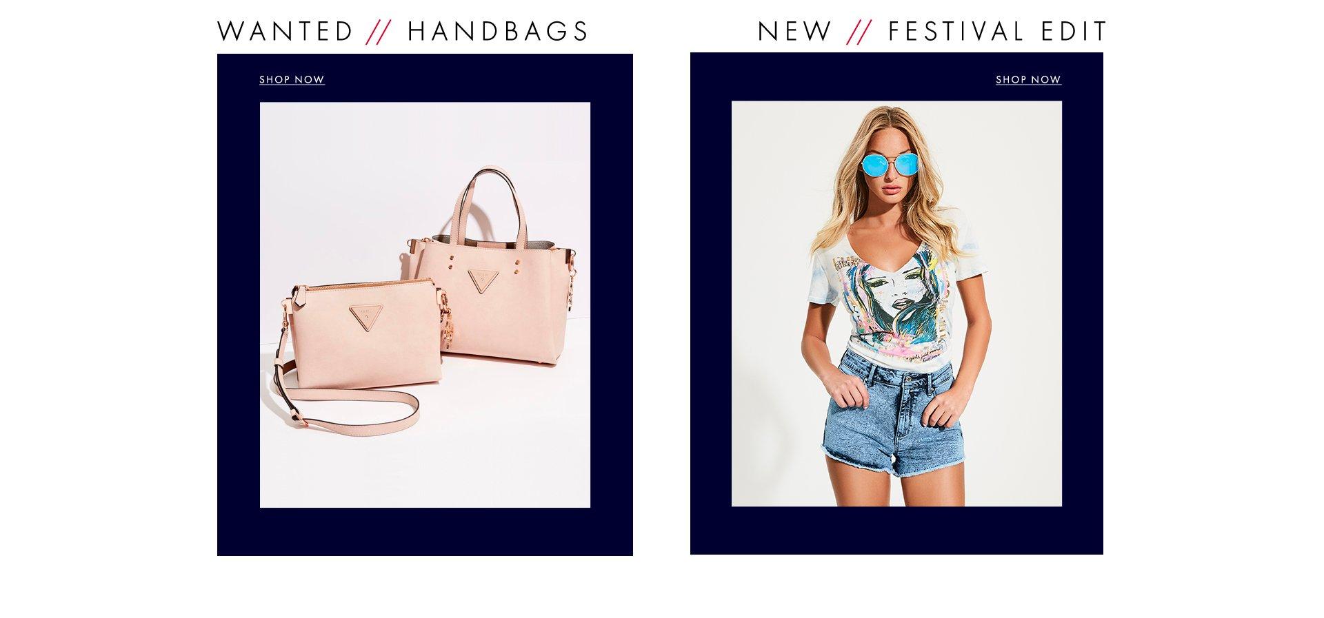 Handbags and Festival Edit