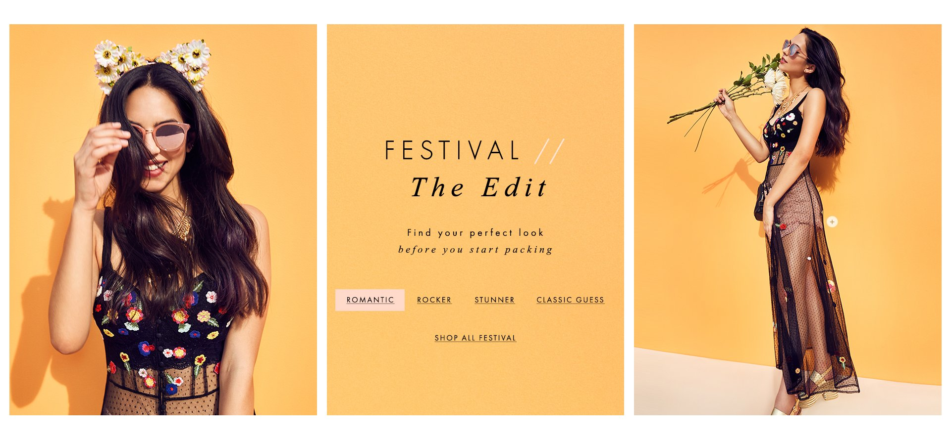 GUESS Festival: The Edit