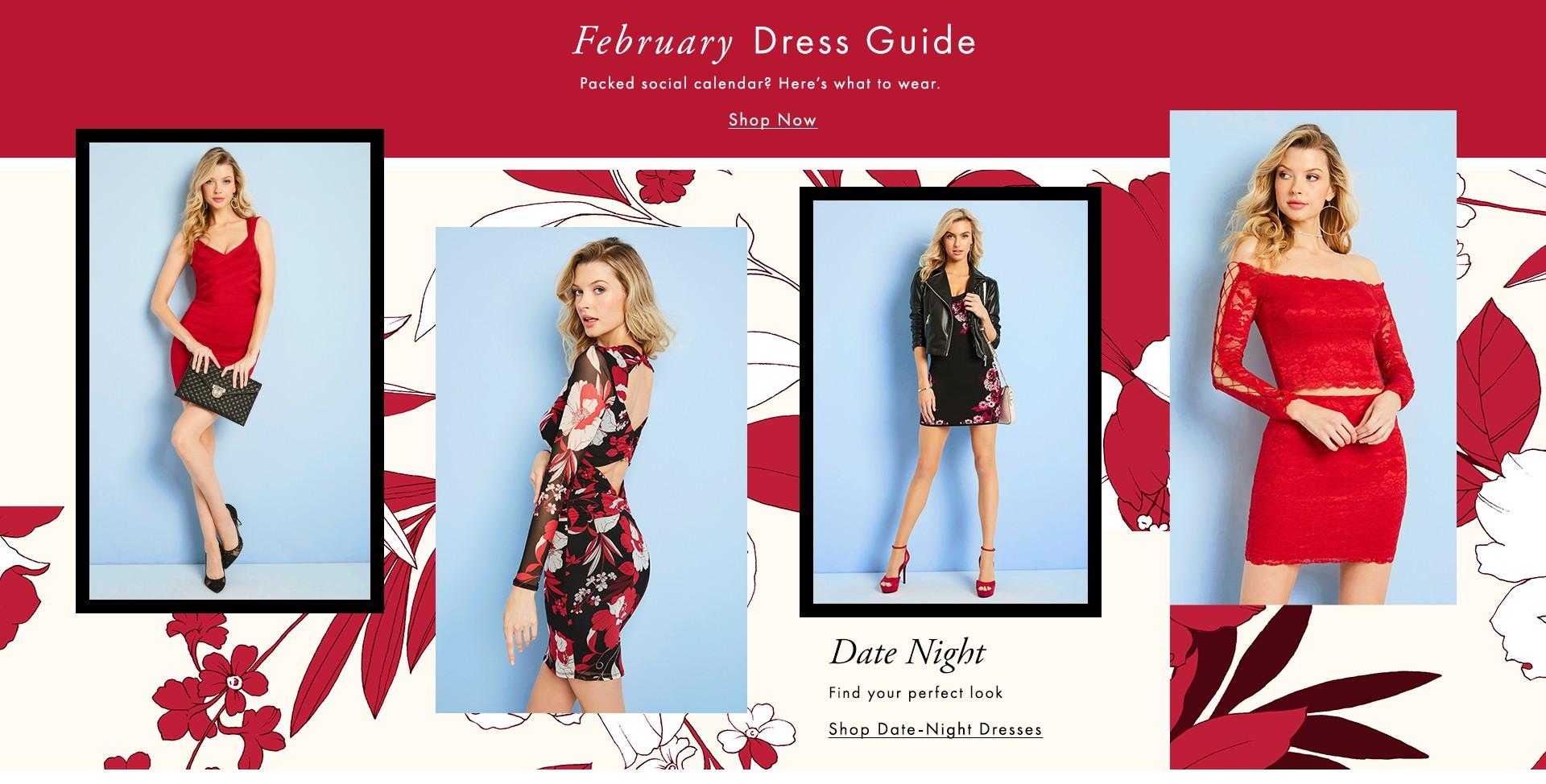 February Dress Guide