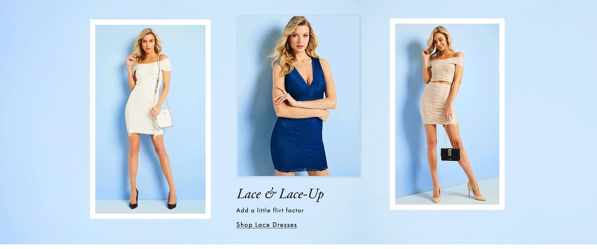 Lace & Lace-Up
