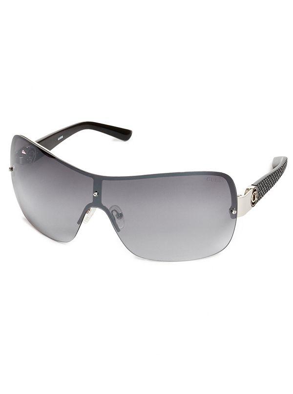 3a78a3239e Rimless Shield Sunglasses