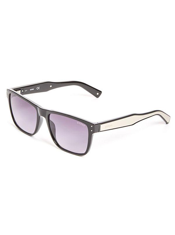 b06df30d08 Metal Arm Square Sunglasses