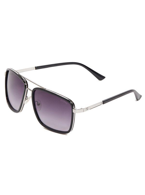 81d216bd3bea3 Plastic Navigator Sunglasses