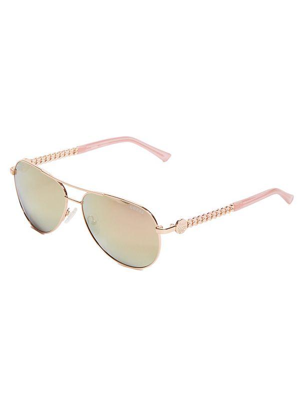 3c30a46f80 best seller · Logo Aviator Sunglasses