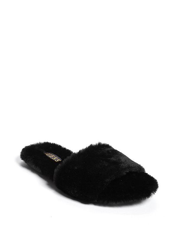 3a140573dfa Bayley Faux-Fur Slide Sandals
