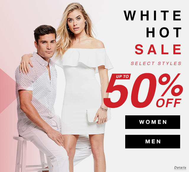 White Hot Sale Event: Select Styles Up to 50% Off